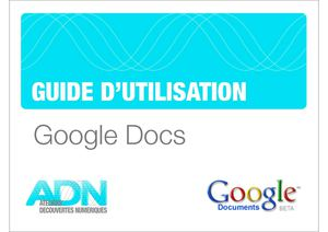Guide Google Documents ADN