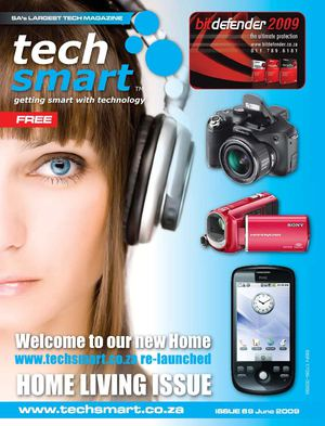 TechSmart 69, June 2009, The Home Living Issue