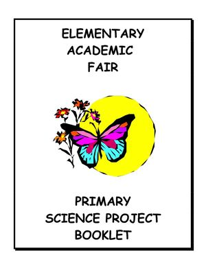 Kids | Science & Technology | The Elementary Science Fair Guide | Primary school