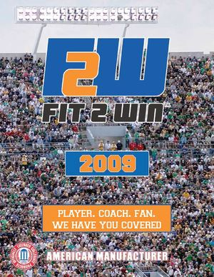 Fit2Win - Athletic Wear - CATALOG