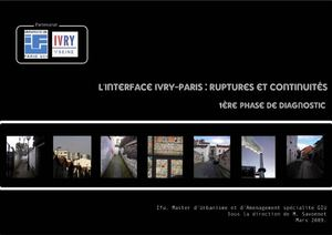 Diagnostic de l'interface Paris / Ivry : Ruptures et Continuités