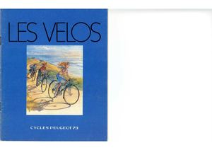 Peugeot catalogue vélos 1979