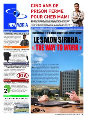 New Media - EDITION N°08 DU 05 AU 11 JUILLET 2009