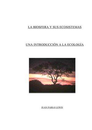 Calaméo - LA BIOSFERA Y SUS ECOSISTEMAS. Una Introducción a la Ecología