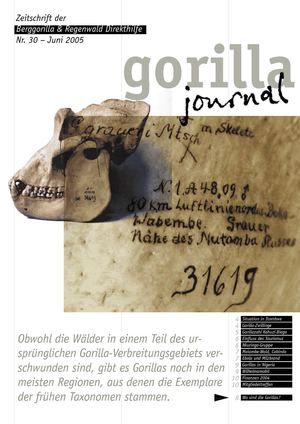 Gorilla Journal 30