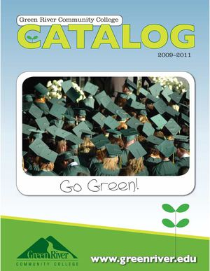2009-2011 Catalog - Green River Community College