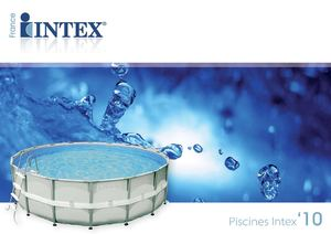 Catalogue Piscines Intex 2010