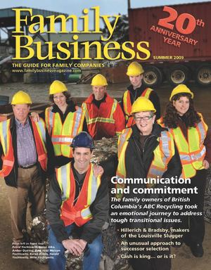 Family Business Magazine—Summer 2009