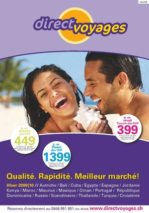 11 DirectVoyages.ch Catalogue N.11/2009