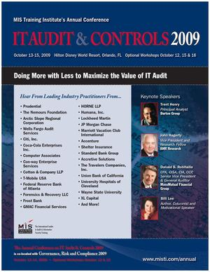 IT Audit & Controls 2009 Brochure
