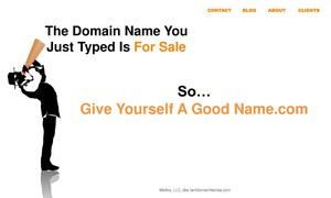 GIVE YOURSELF A GOOD NAME.com