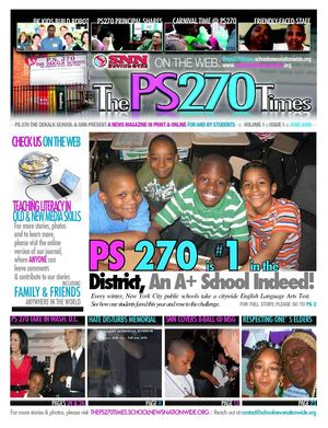 The PS 270 Times, School News Nationwide Publication