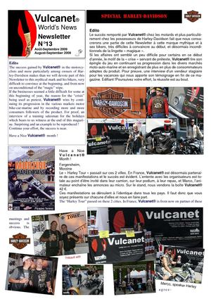 Vulcanet World News_N°13_August-Sept.2009