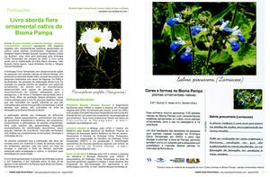 Livro aborda flora ornamental nativa do Bioma Pampa