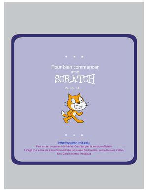 Scratch : Commencer