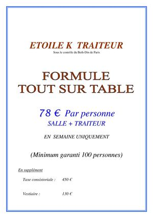 TRAITEUR SALON SAINT HONORE - alloj.fr