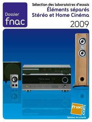 Guide Fnac Steréo Home Cinema 2009