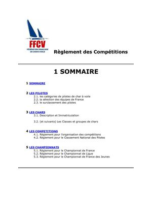 FFCV_Reglement_des_Competitions