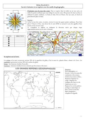 Outils du geographe