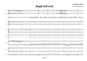 Jingle bell rock score