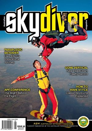 Australian SKYDIVER Magazine Issue 46