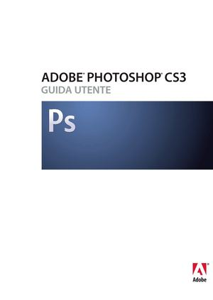 Manuale Photoshop cs3