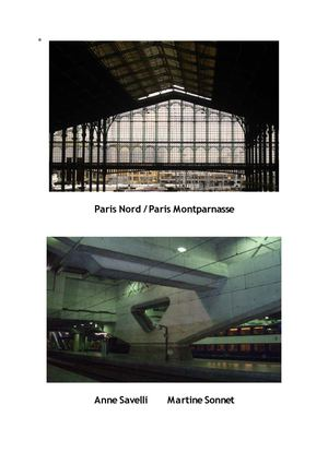 Paris Nord Paris Montparnasse