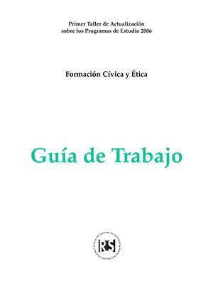 Calaméo - GUIA DE FORMACION CIVICA Y ETICA