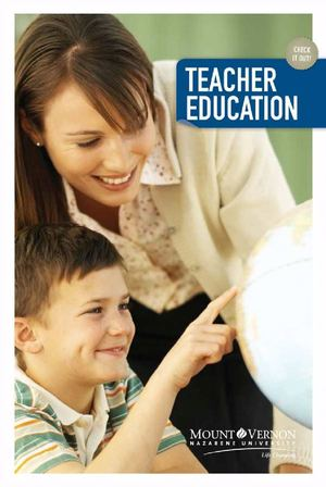 Education Department Brochure