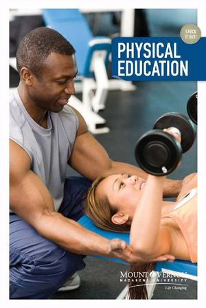 Physical Education Department Brochure