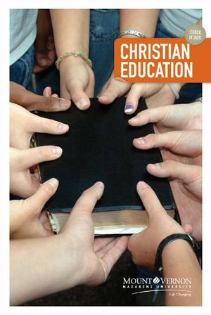 Christian Education Department Brochure