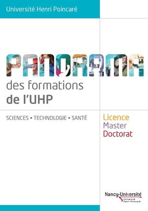 Panorama des Formations UHP -2009/2010
