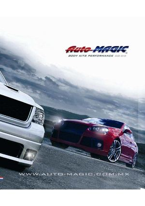 Catalogo RMH tuning AUTOMAGIC 2009-2010