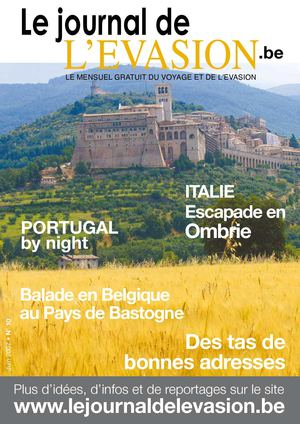 Le Journal de l'Evasion.be, Reportages au Portugal (by night), en Ombrie, en Murcie et à Bastogne
