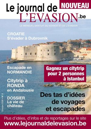 Le Journal de l'Evasion.be, Reportages à Dubrovnik, en Normandie et en Andalousie