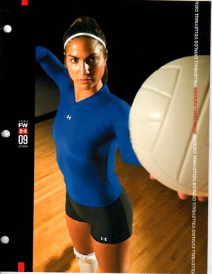 Under Armour Volleyball Catalog