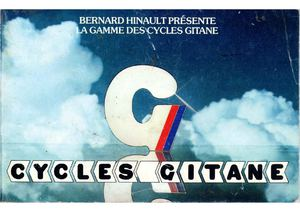Gitane catalogue vélos 1980