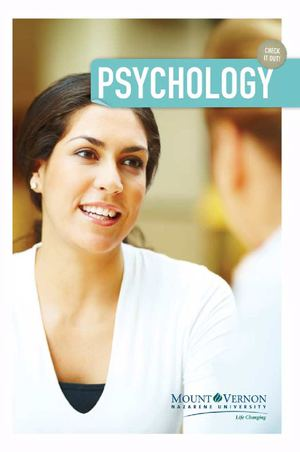 Psychology Department Brochure
