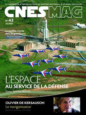 """Cnes Nasa 1ETRE Mission Franco Baudry 4 /"""" Patch"""