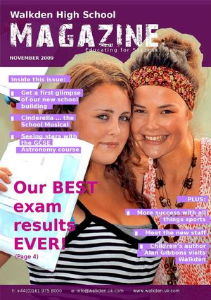 Walkden High School Magazine - November 2009