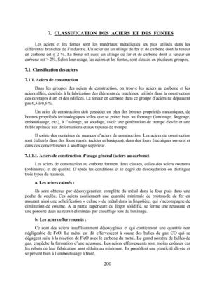 7 classification des aciers et des fontes 34 pages