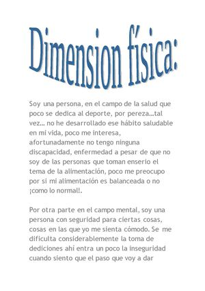 dimension fisica