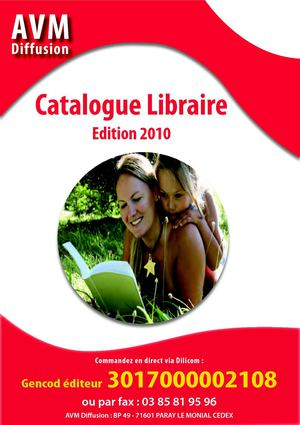 Catalogue Libraire AVM