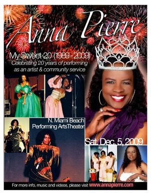 Anna Pierre Royal Concert Program