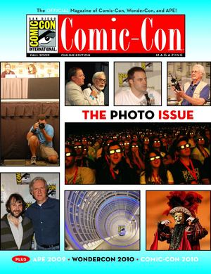 Comic-Con 2009 - fall - the photo issue