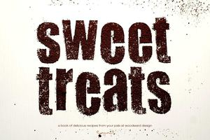 Sweet Treats - Woodward Cookbook - a book of delicious recipes