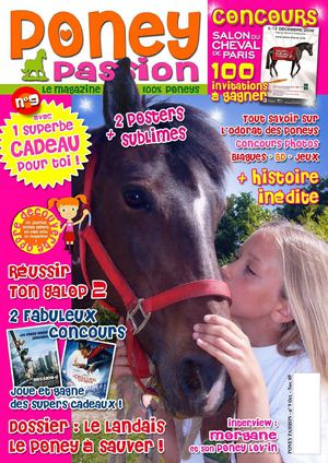 PONEY PASSION n°9 Oct-Nov. 09