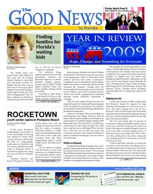 The Good News - January 2010 Palm Beach Issue