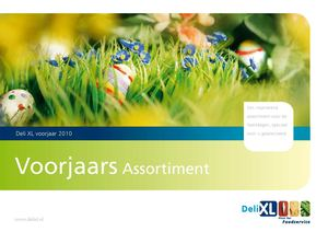 Deli XL voorjaarsassortiment
