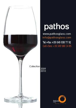 CATALOGO 2010 PATHOS STOLZLE
